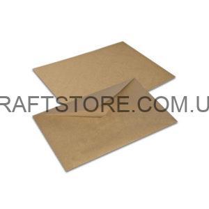 конверт крафт С4 с треугольным клапаном купить