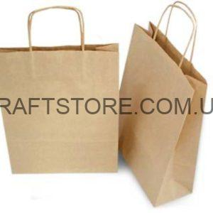 Бумажные пакеты с логотипом с ручками купить украина