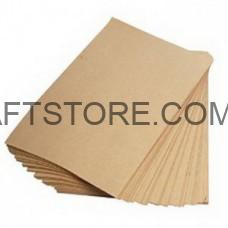 Эко крафт бумага А3 бурая в листах купить
