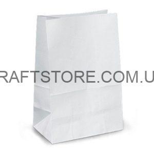 Белый крафт пакет без ручек купить оптом