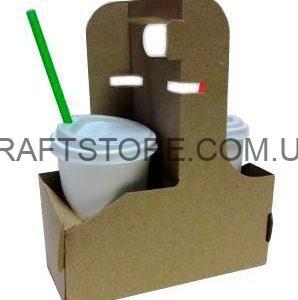 Холдер для стакана картонный украина