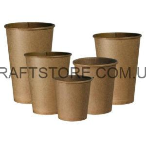 Крафт стаканы бумажные