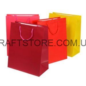Ламинированные пакеты для упаковки подарков