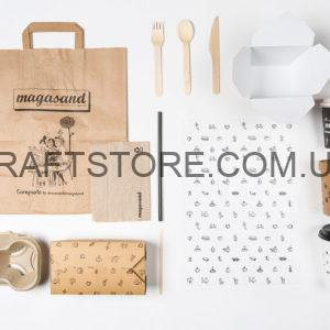 Бумажная упаковка для еды на вынос