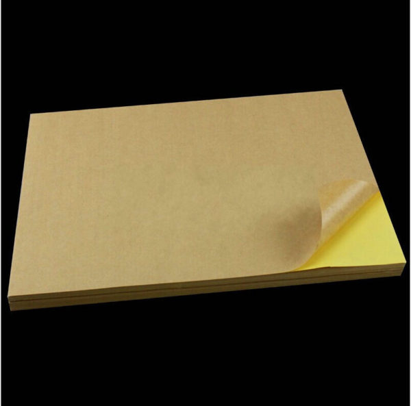 Крафт бумага самоклеящаяся А4 цена