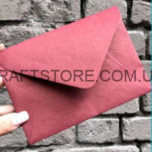 купить крафт конверт цветной С5, С6