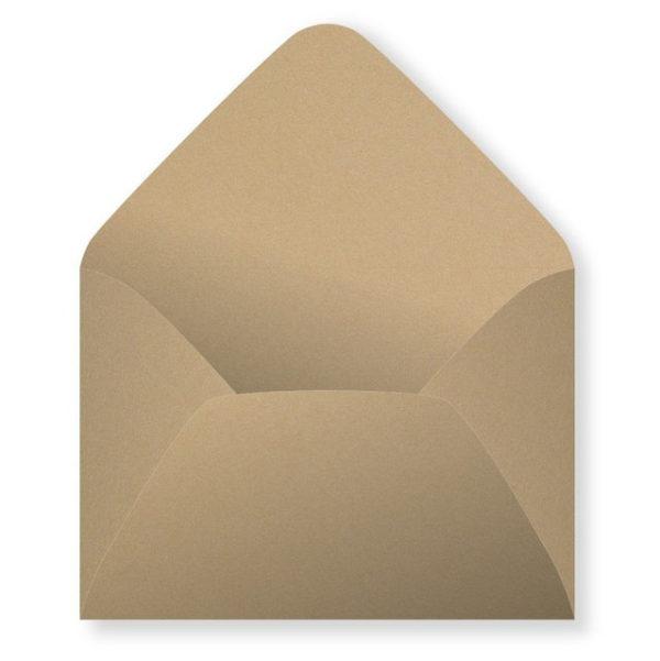 крафт конверт орех