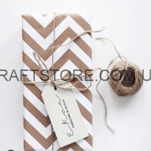 Крафт бумага в рулоне с узором купить