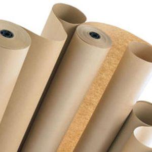 Упаковочная крафт бумага рулоны