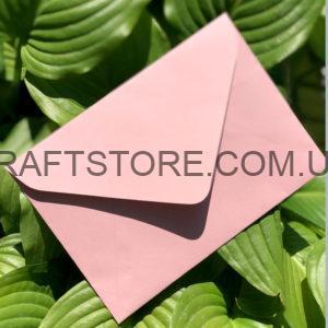 Подарочный конверт из крафт бумаги С5. С6
