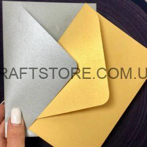 Плотный конверт С5. С6 крафт купить украина