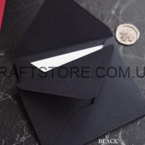 плотный подарочный крафт конверт С6 купить