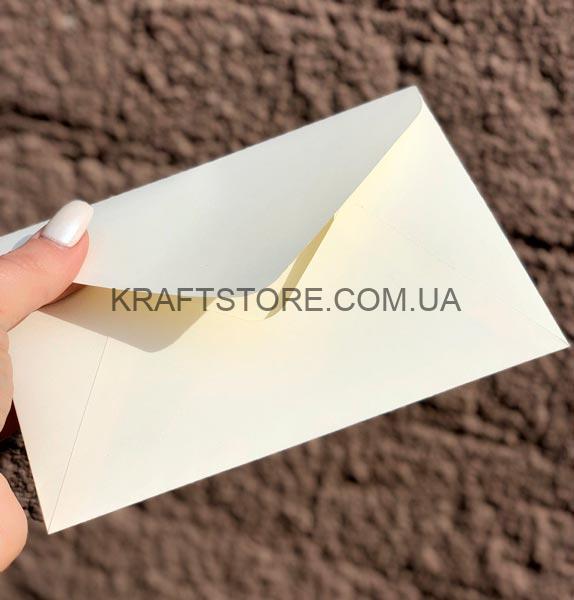 крафт конверт цветной С6