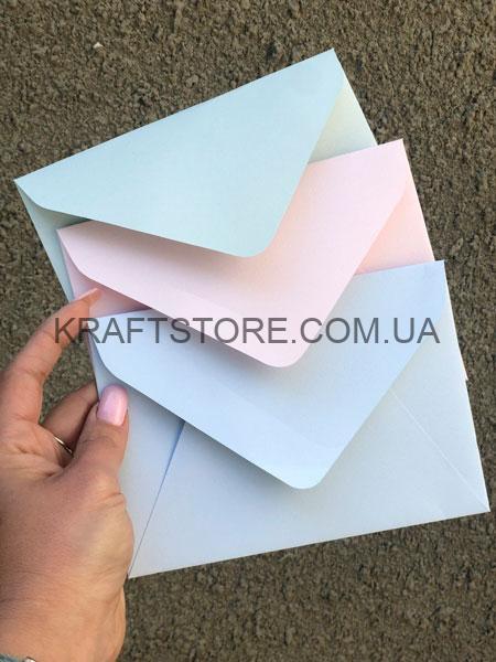 Конверты крафт С5 пастельные купить