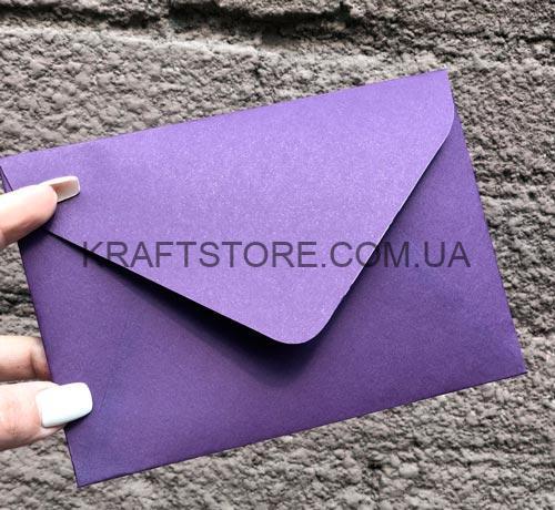 Цветные конверты крафт С6 купить