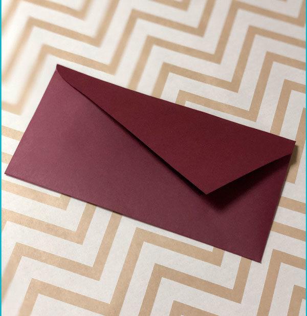 Крафт конверт DL плотный купить