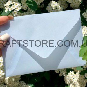 Конверт из кальки С6 прозрачный купить