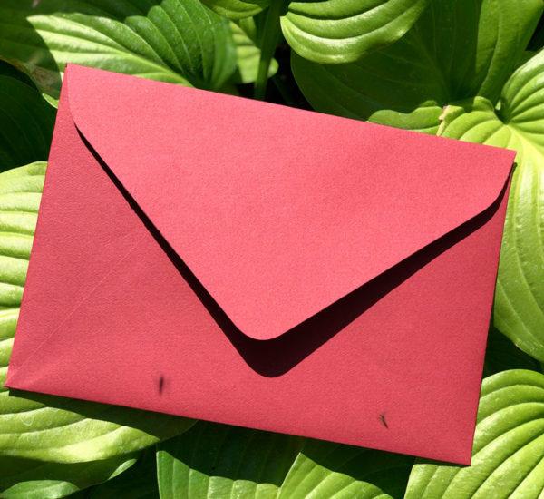 Свадебные конверты крафт С5 цена