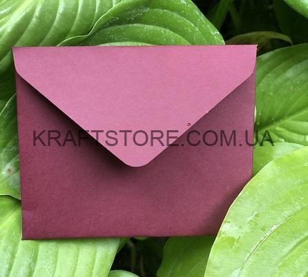 Крафтовый конверт для пластиковой карты украина