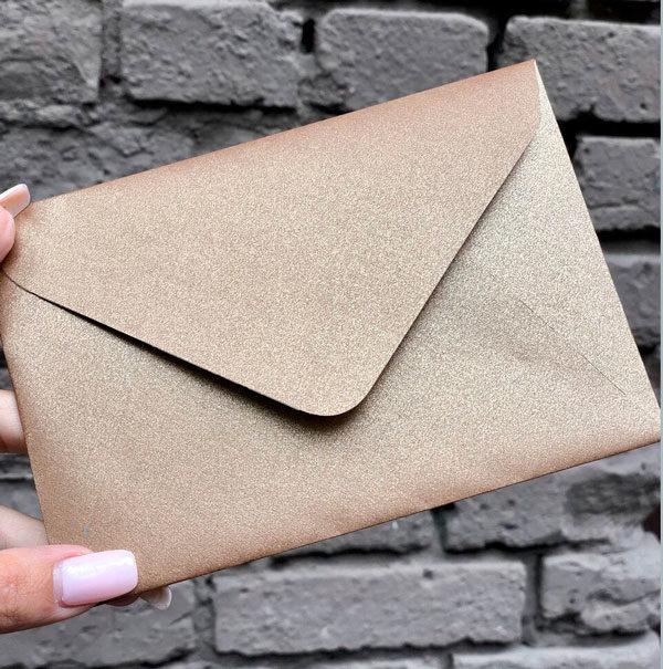 Красивые конверты крафт С6 плотные цена украина