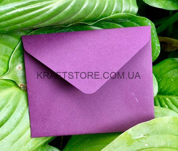 Мини конверты плотные цветные цена украина