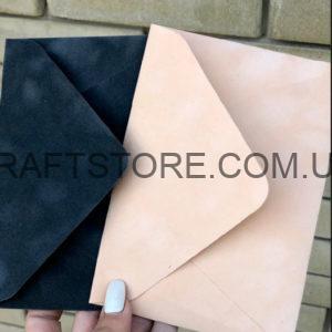 Бархатный конверт С6 дизайнерский цена украина
