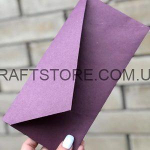 Цветной однотонный конверт DL купить украина