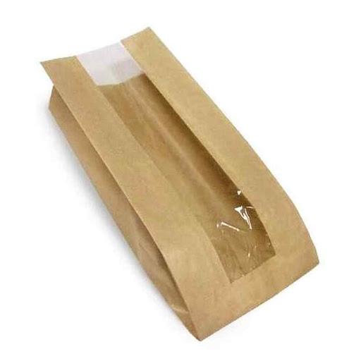 Бумажные пакеты саше с прозрачным окошком купить оптом