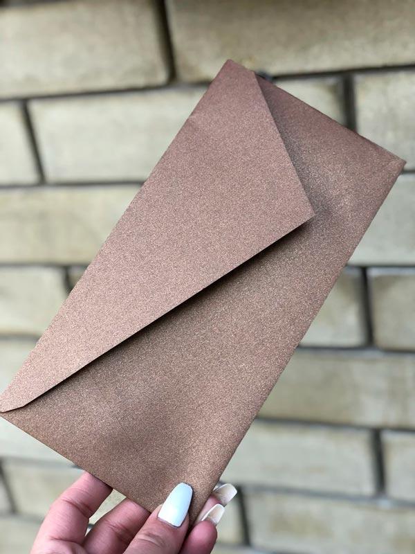 Перламутровый конверт DL подарочный цена