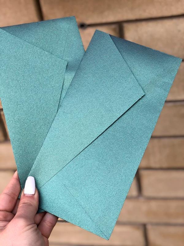 купить Дизайнерский конверт DL жемчужный
