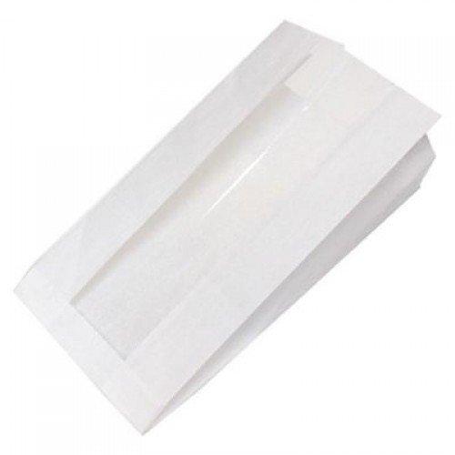 Бумажные пакеты с окном купить украина
