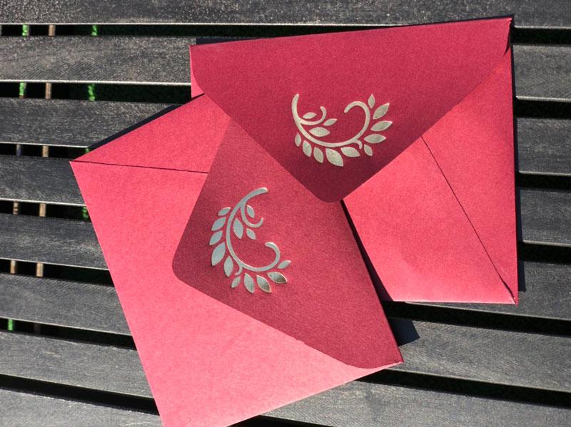 тиснение на конвертах заказать