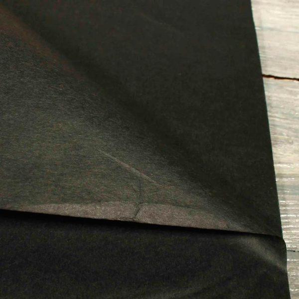 купить Бумага тишью черная