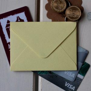 Конверты для визиток и карточек
