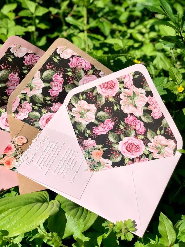 свадебный конверт купить