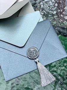 Декор для крафт конверта