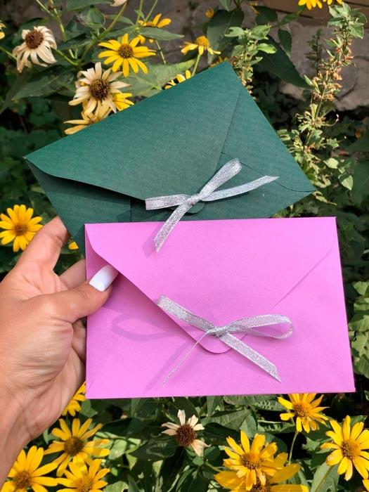 Декор для крафт конвертов купить