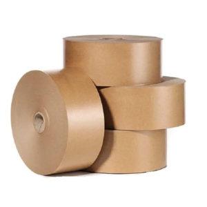 Бумажная скотч лента коричневая купить недорого
