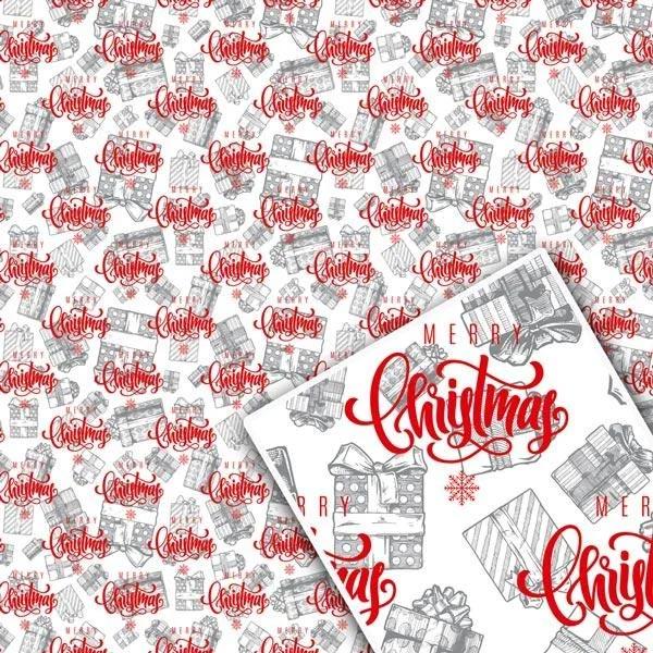 Бумажная упаковка для новогодних подарков купить недорого