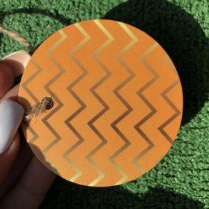 Бирки картонные круглые цветные цена