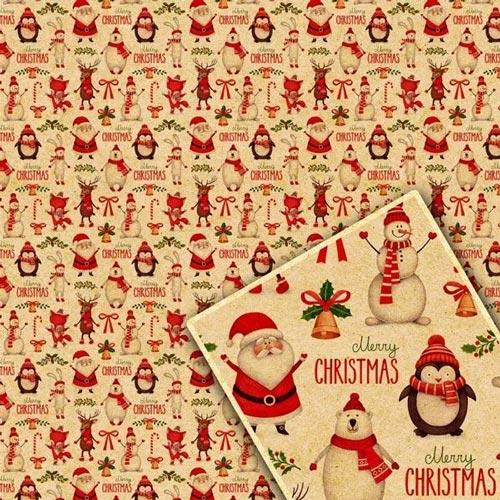 Упаковка для новогодних подарков бумажная цена