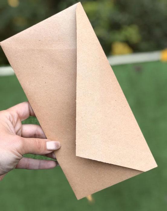 красивый крафт конверт DL цена