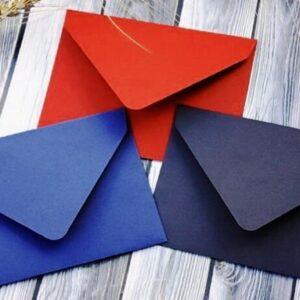 Конверты из дизайнерского картона