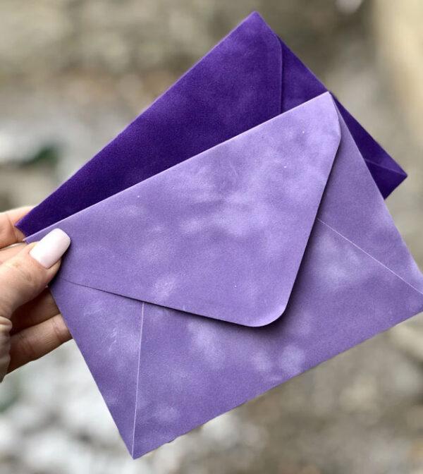 цена на Бархатный конверт С6 для фото