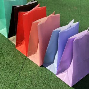 Цветные пакеты без ручек