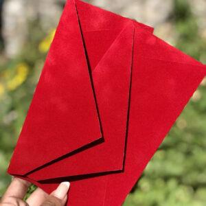 Бархатные конверты DL