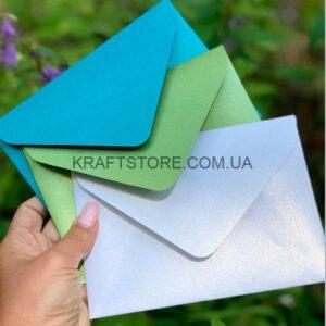 Перламутровые конверты C5