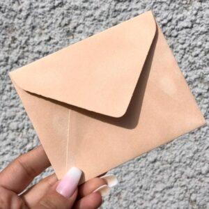 Бархатные конверты мини